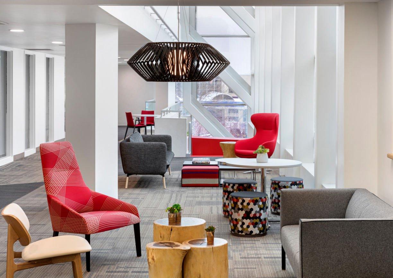 1200 Washington lounge by InUnison Design