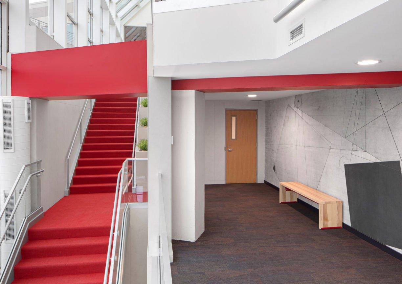 1200 Washington mezzanine by InUnison Design