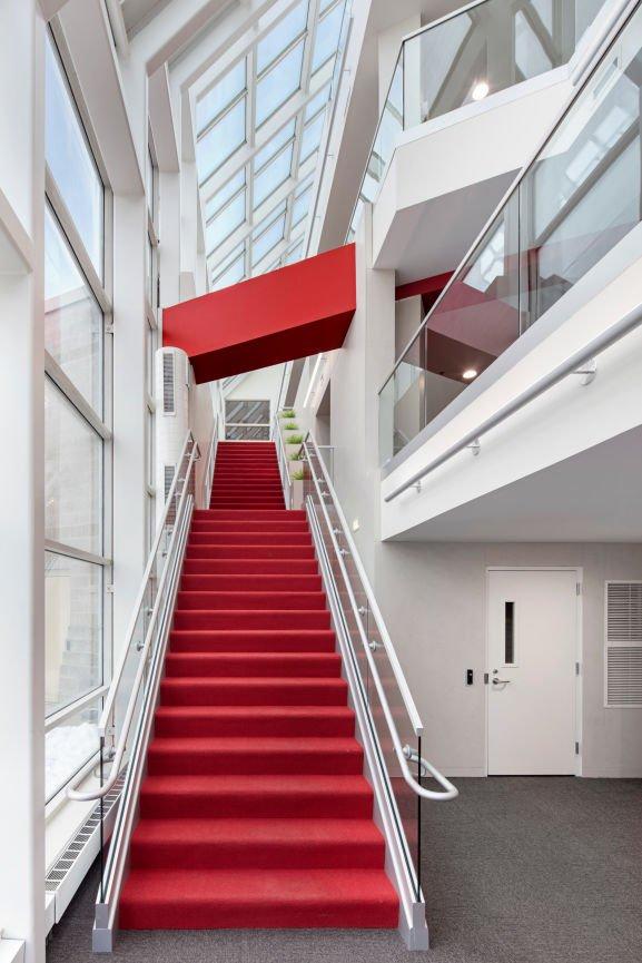 1200 Washington staircase by InUnison Design