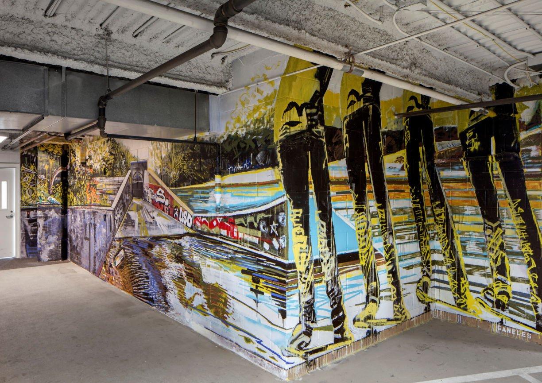 1200 Washington mural by InUnison Design