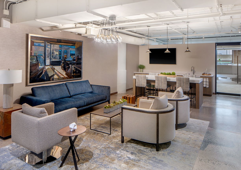 Lounge in Eagle Ridge Partners Office