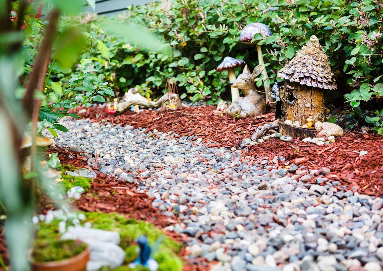 Gilda's Club Twin Cities fairy garden by Christine Frisk of InUnison Design