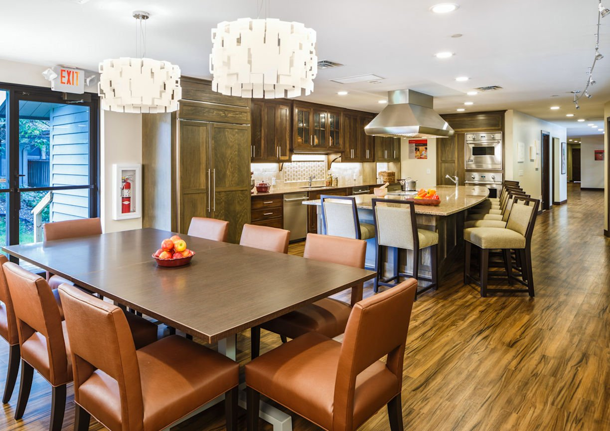 Gilda's Club Twin Cities kitchen by Christine Frisk of InUnison Design