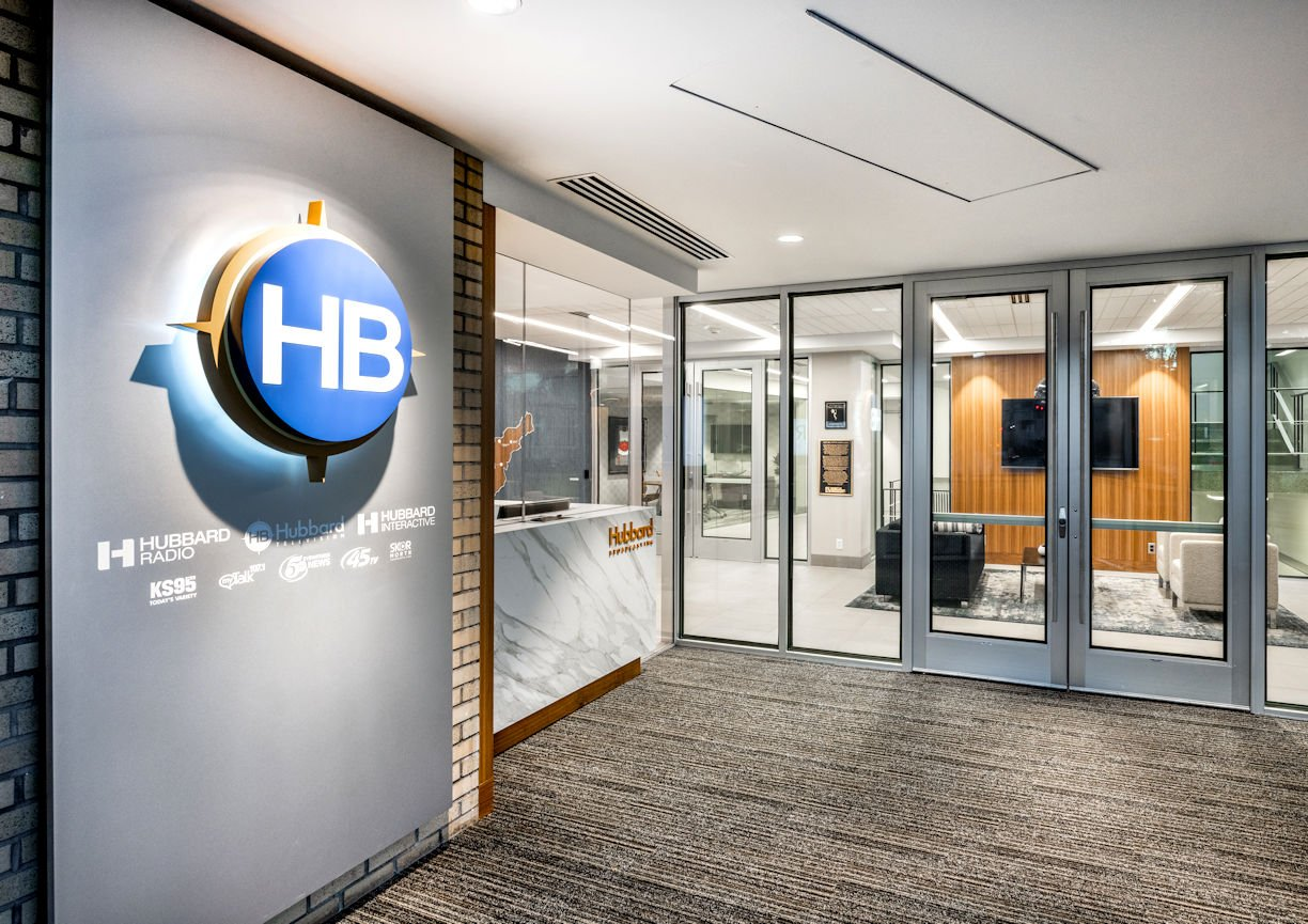 HUBBARD BROADCASTING entry by InUnison Design