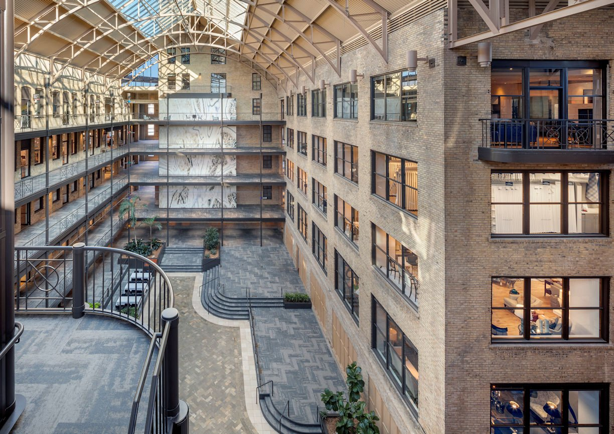 International Market Square Atrium by InUnison Design