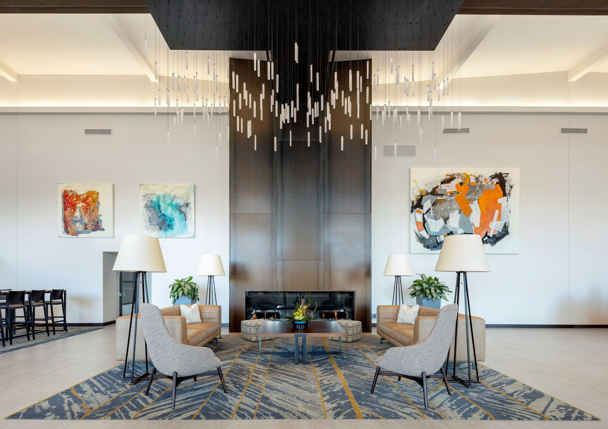 International Market Square grand lobby by InUnison Design
