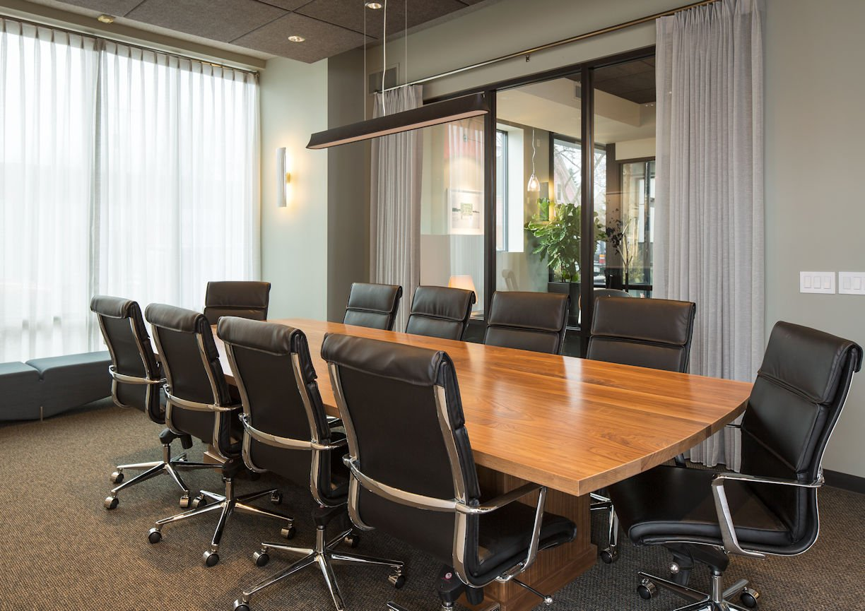 Matonich Law conference room by Christine Frisk of InUnison Design