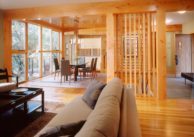 Modern Tudor style home by InUnison Design