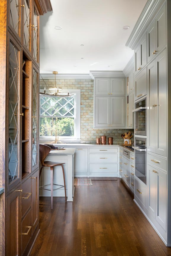 Mount Curve English Culinary kitchen by InUnison Design