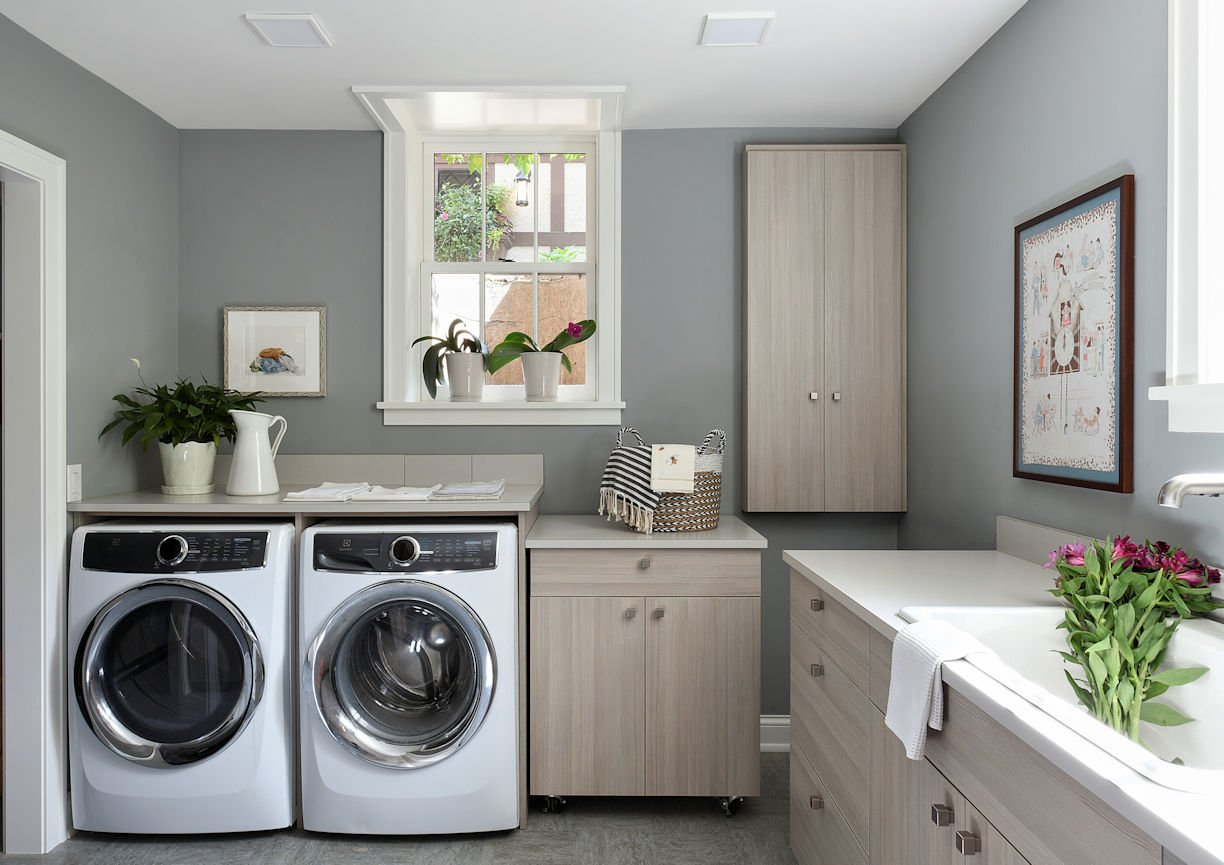 Mount Curve English Culinary laundry room by InUnison Design