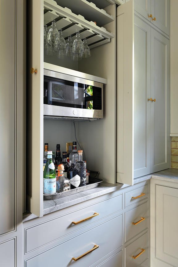 Mount Curve English Culinary pantry by InUnison Design