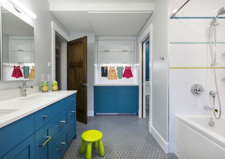 sustainable childrens bath in Nordeast Nest by InUnison Design