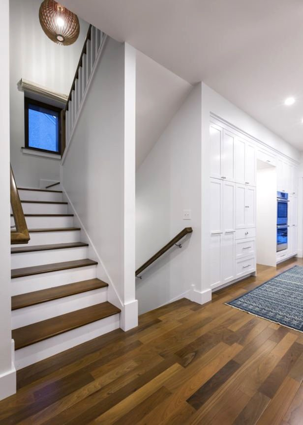 hallway in Nordeast Nest Passive house by InUnison Design