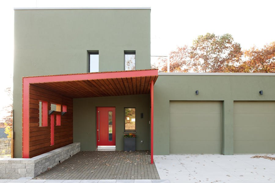 PASSIVE HOUSE IN THE WOODS