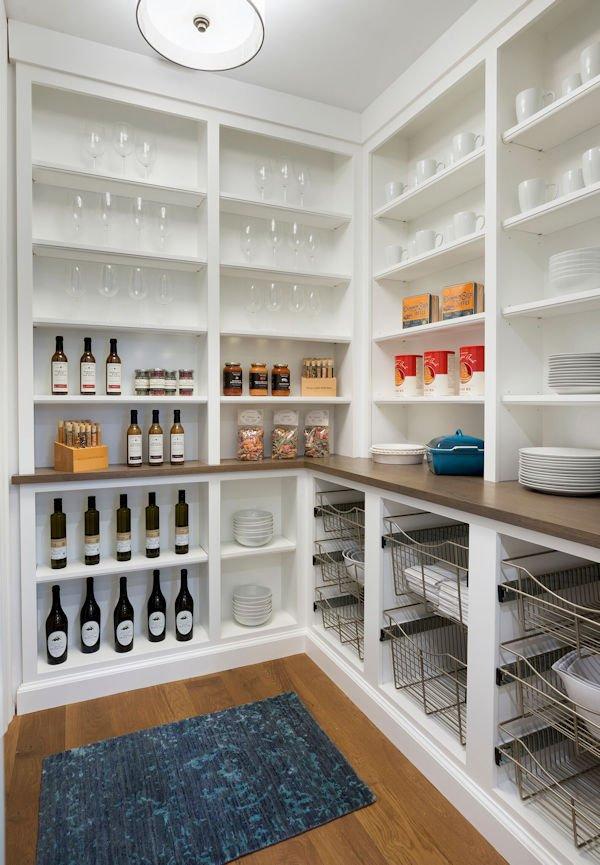 butler's pantry inside Lake Minnetonka Estate designed by InUnison Design