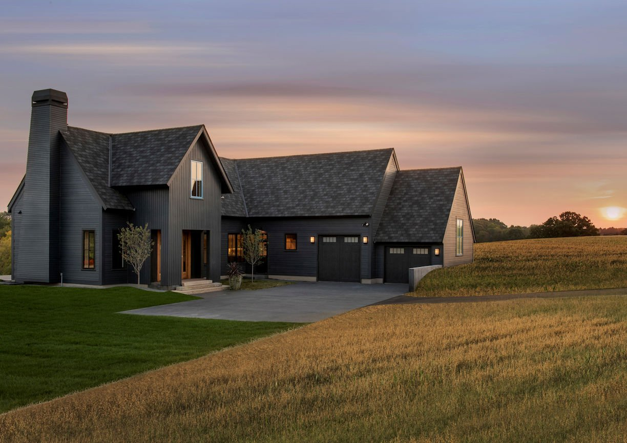 Modern Prairie Home by InUnison Design