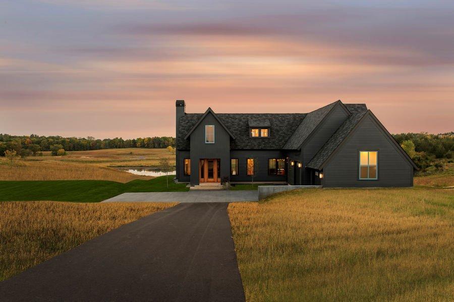 Modern Prairie Home at White Oaks Savanna