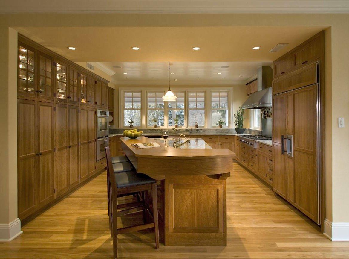 Orono Farmhouse kitchen interior design by InUnison Design