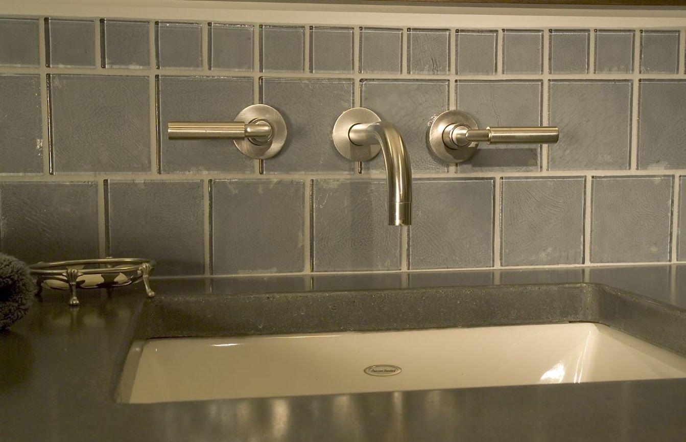 Orono Farmhouse kitchen faucet detail by InUnison Design
