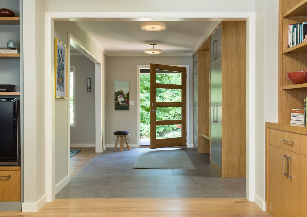 entryway to Rambler Reimagined by InUnison Design