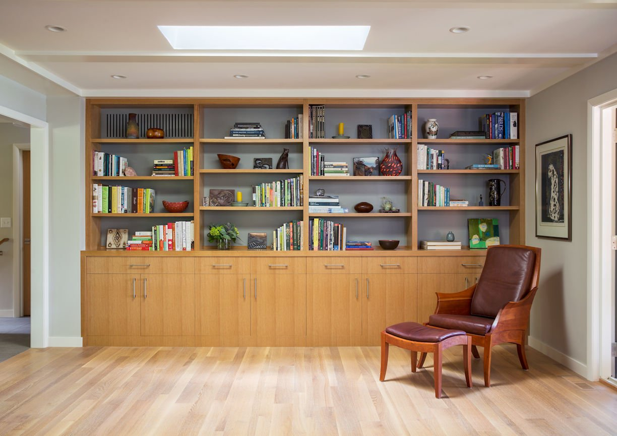 library in Rambler Reimagined by InUnison Design
