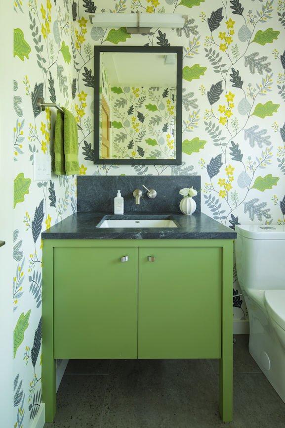 powder room in Rambler Reimagined by InUnison Design