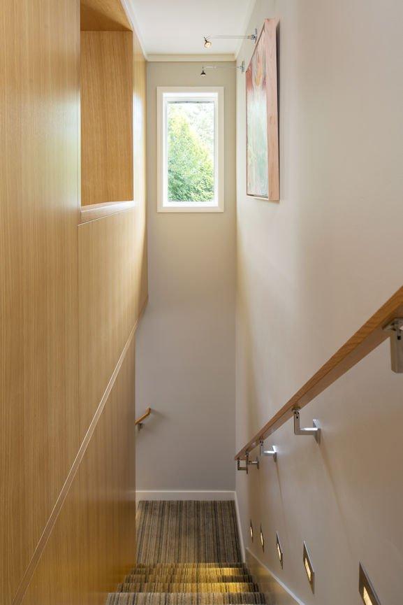 lighted stairway in Rambler Reimagined by InUnison Design