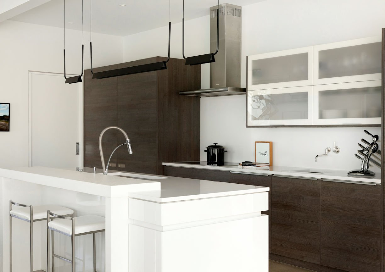 kitchen in Rooftop Residence by InUnison Design and Christine Frisk