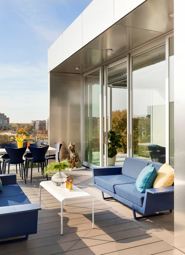 Rooftop Residence by InUnison Design and Christine Frisk