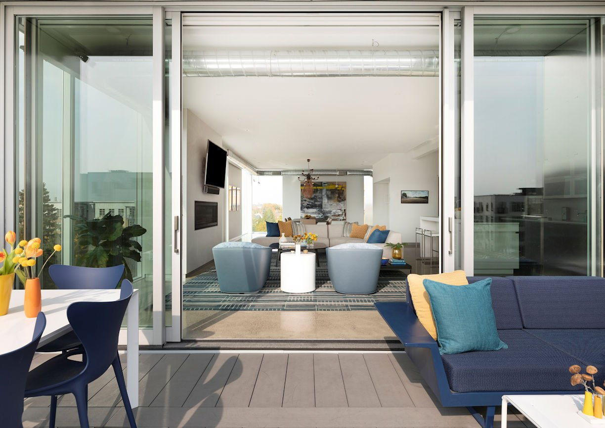 Rooftop Residency by InUnison Design and Christine Frisk