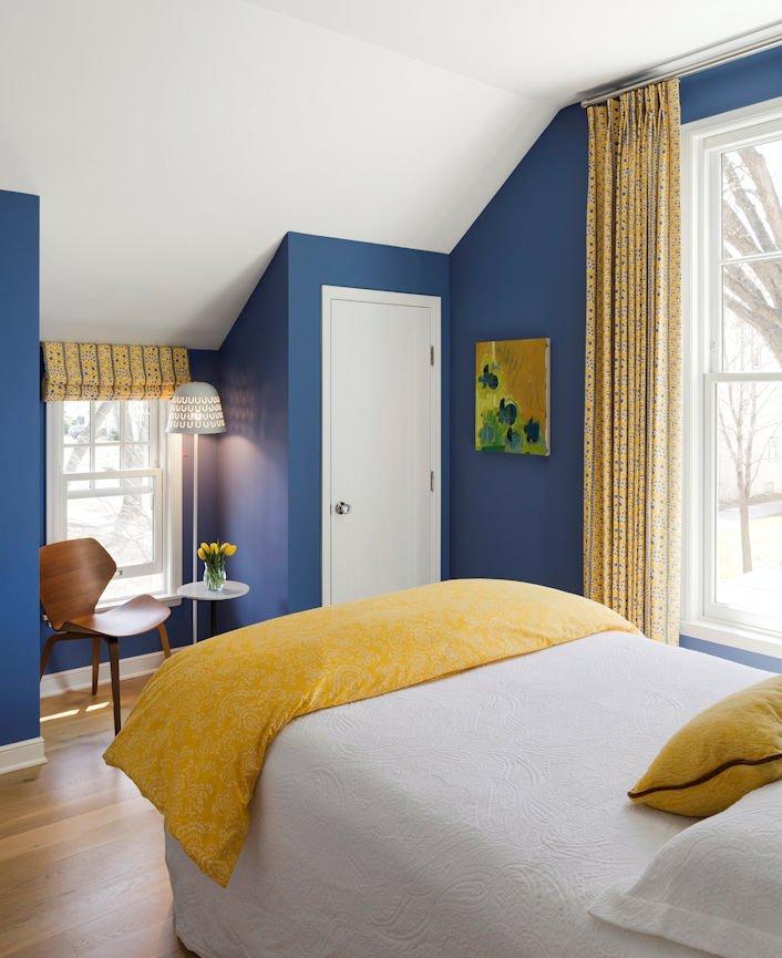 Scandinavian Urban Garden bedroom by InUnison Design