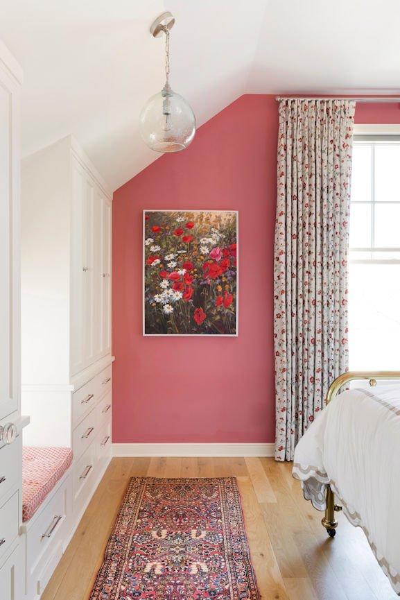 Scandinavian Urban Garden hallway colors by InUnison Design