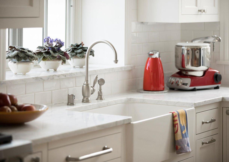 Scandinavian Urban Garden kitchen faucet by InUnison Design