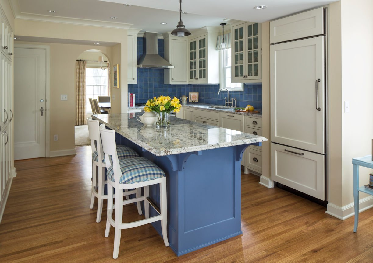interior design for kitchen in St. Paul Residence by InUnison Design