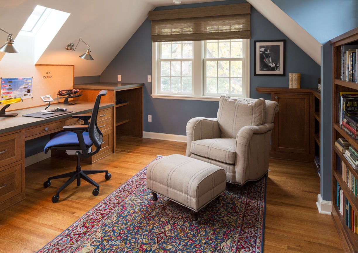 interior design for office in St. Paul Residence by InUnison Design