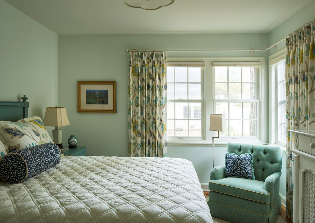 interior design for guest bedroom in St. Paul Residence by InUnison Design