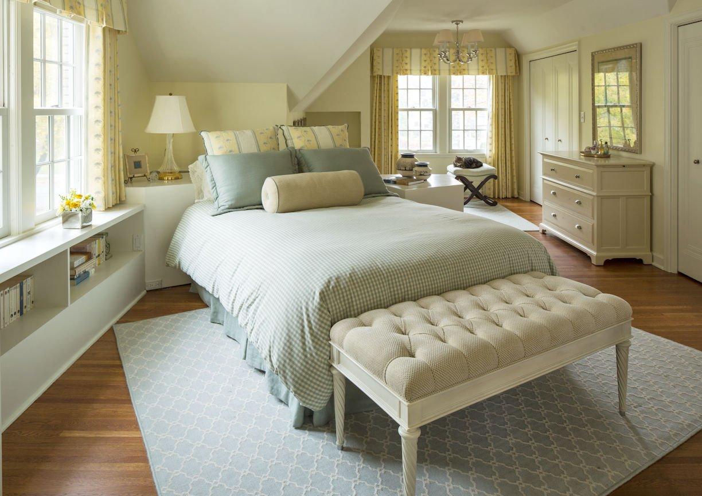 interior design for bedroom in St. Paul Residence by InUnison Design