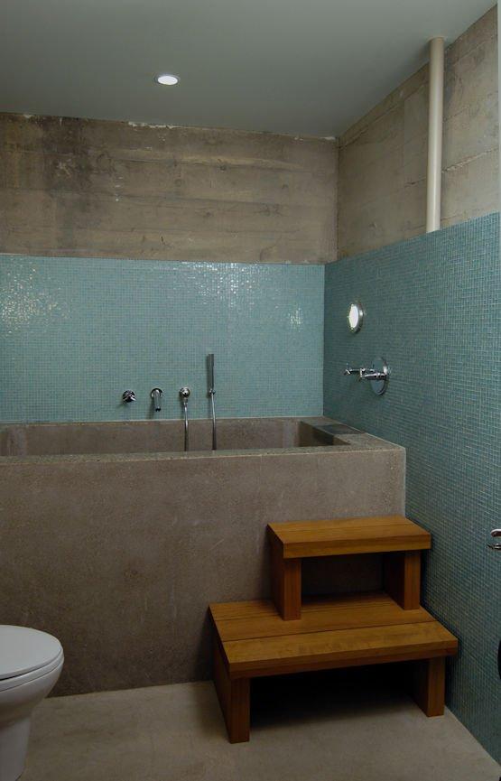 washroom sauna in man cave Subterranean Wonder Remodel by Christine Frisk